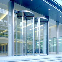 Open Entrances Oversized glass entrances Environment