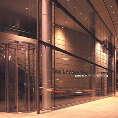 Circular Sliding doors - One London Wall