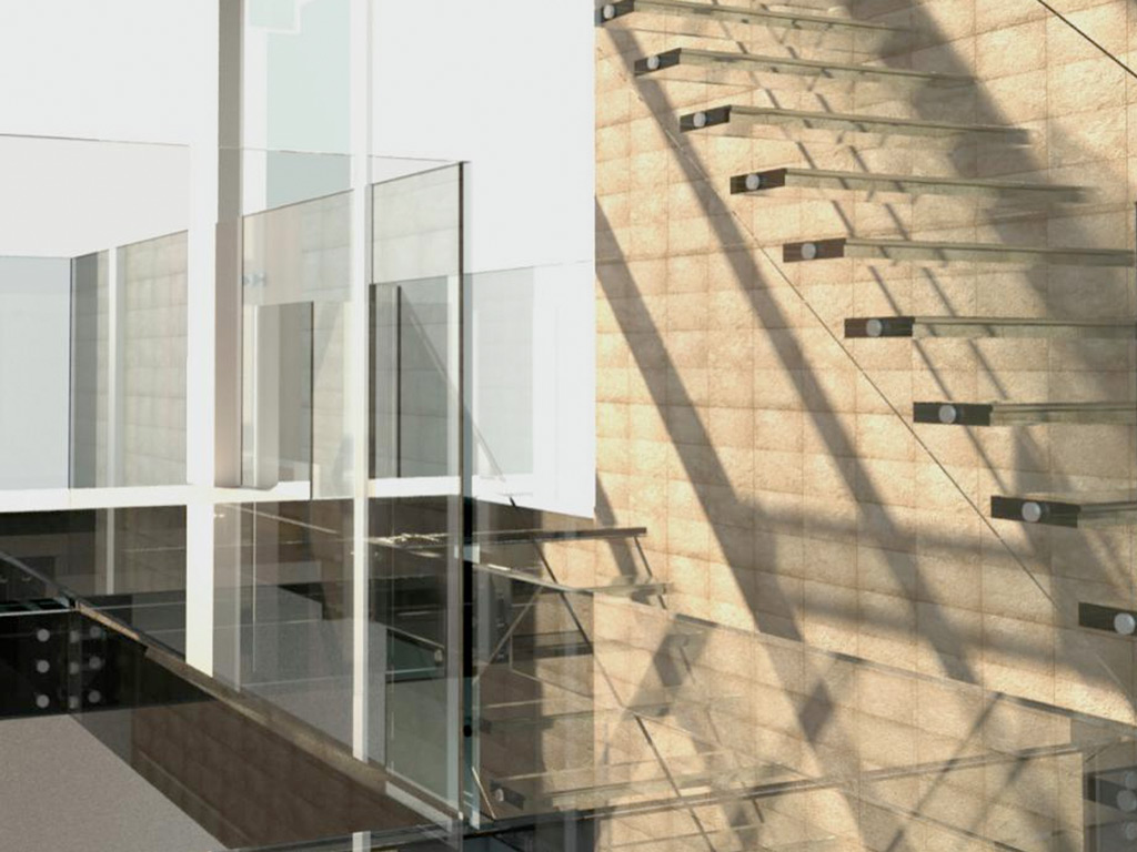Glass Staircases and Sligind Glass Roofs