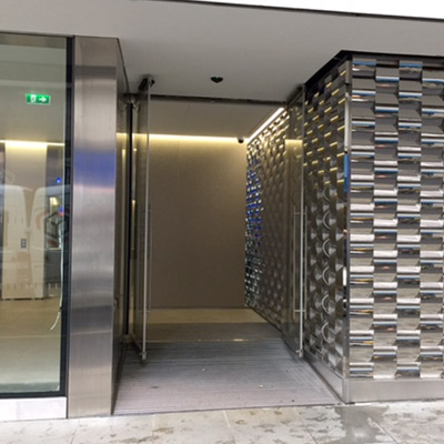 Frameless Glass Doors 140 Fenchurch Street