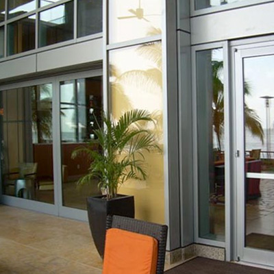 Linear Sliding Doors - Hyatt Regency, Tirinidad