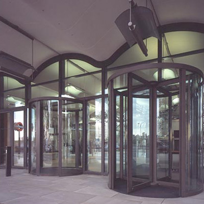 revolving doors by Open Entrances