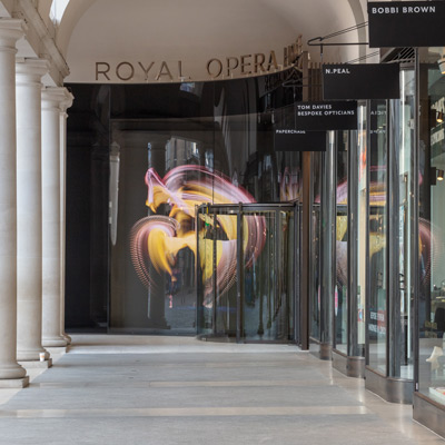 Royal Opera House Stanton Williams Revolving Doors and Glass Entrance
